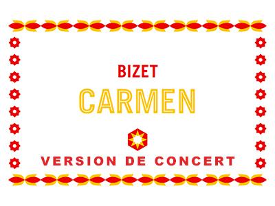CARMEN Version de concert